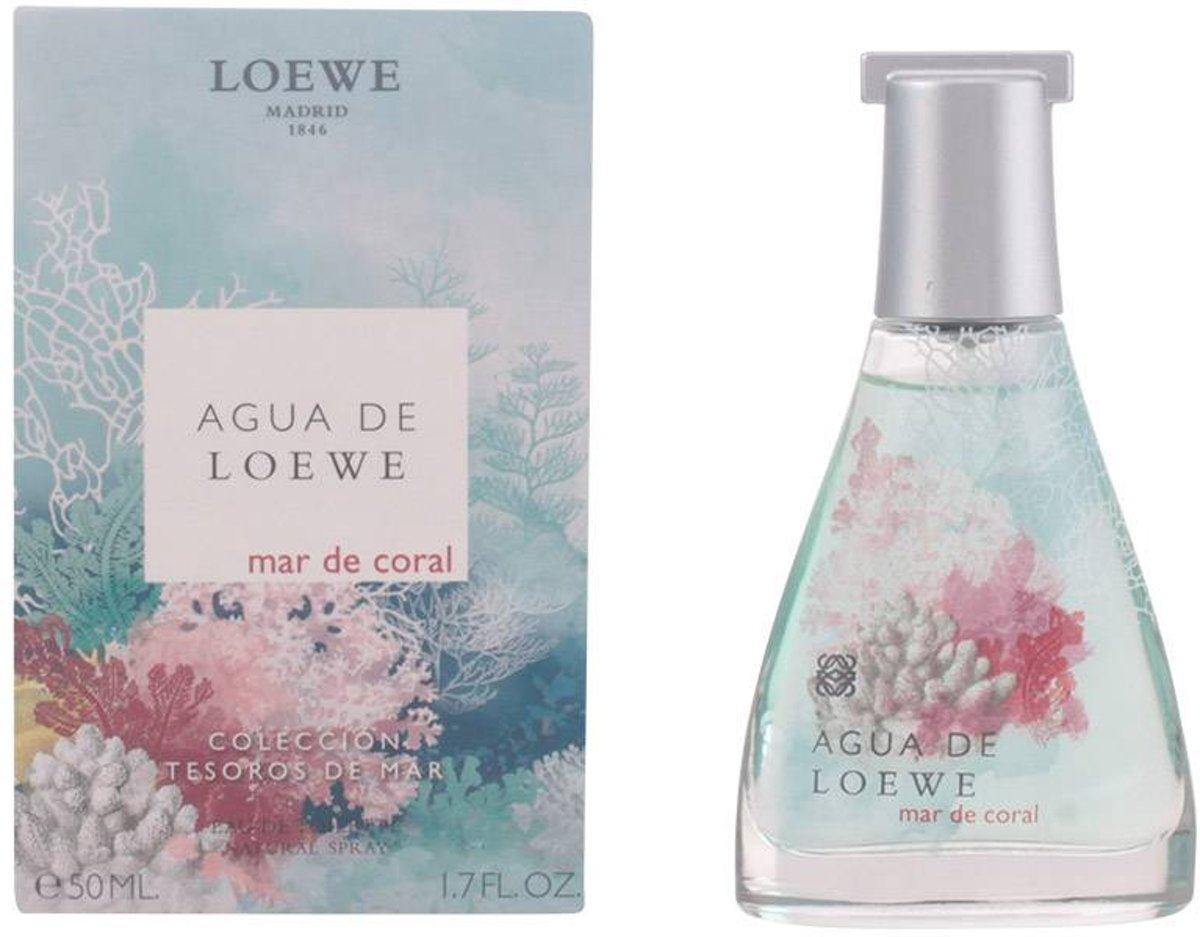AGUA DE LOEWE MAR DE CORAL eau de toilette spray 50 ml