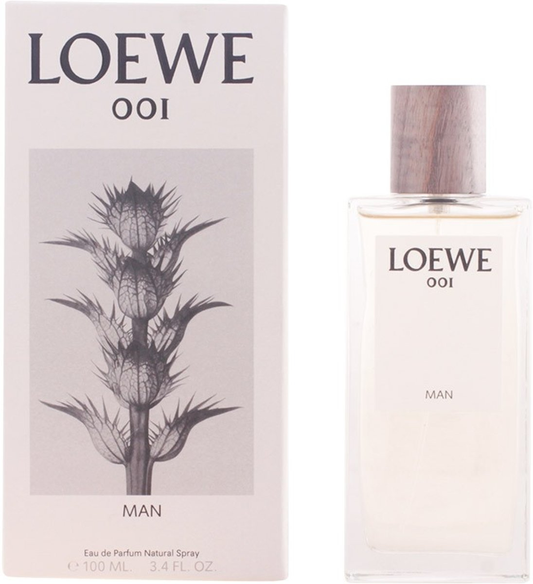 MULTI BUNDEL 2 stuks LOEWE 001 MAN Eau de Perfume Spray 100 ml