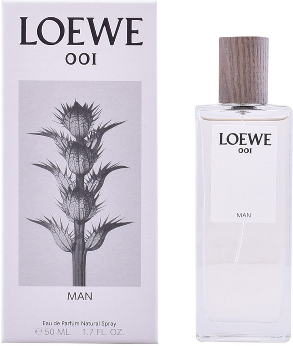 MULTI BUNDEL 2 stuks LOEWE 001 MAN Eau de Perfume Spray 50 ml