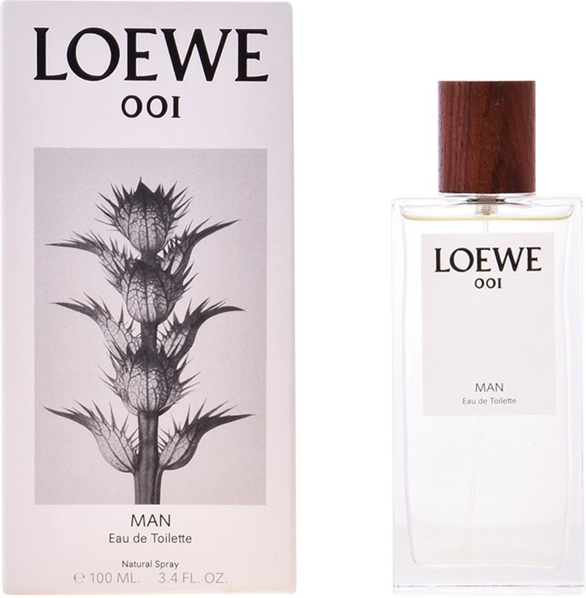 MULTI BUNDEL 2 stuks LOEWE 001 MAN Eau de Toilette Spray 100 ml