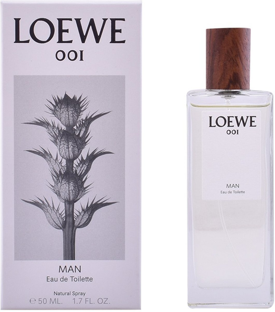 MULTI BUNDEL 2 stuks LOEWE 001 MAN Eau de Toilette Spray 50 ml