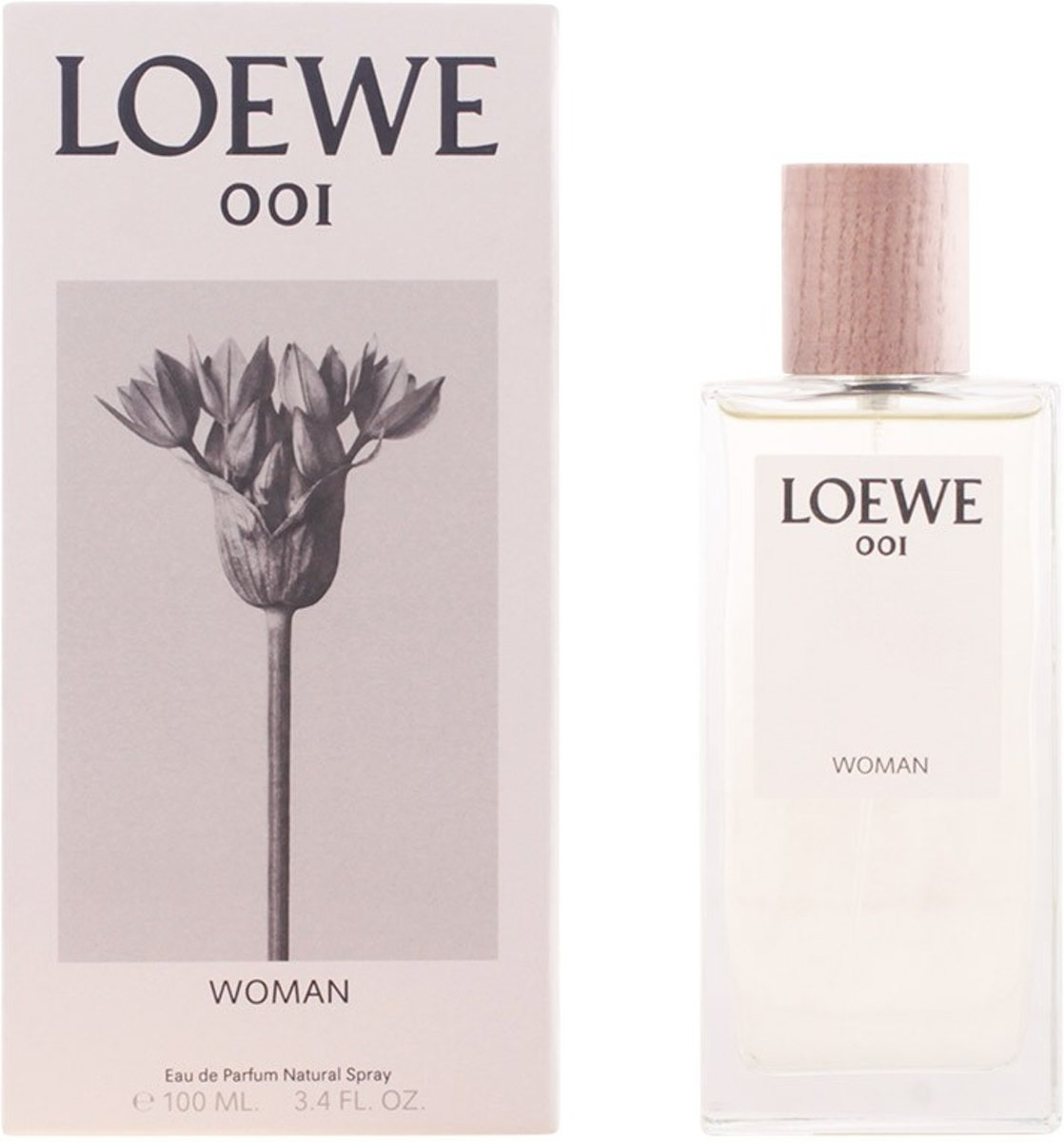 MULTI BUNDEL 2 stuks LOEWE 001 WOMAN Eau de Perfume Spray 100 ml