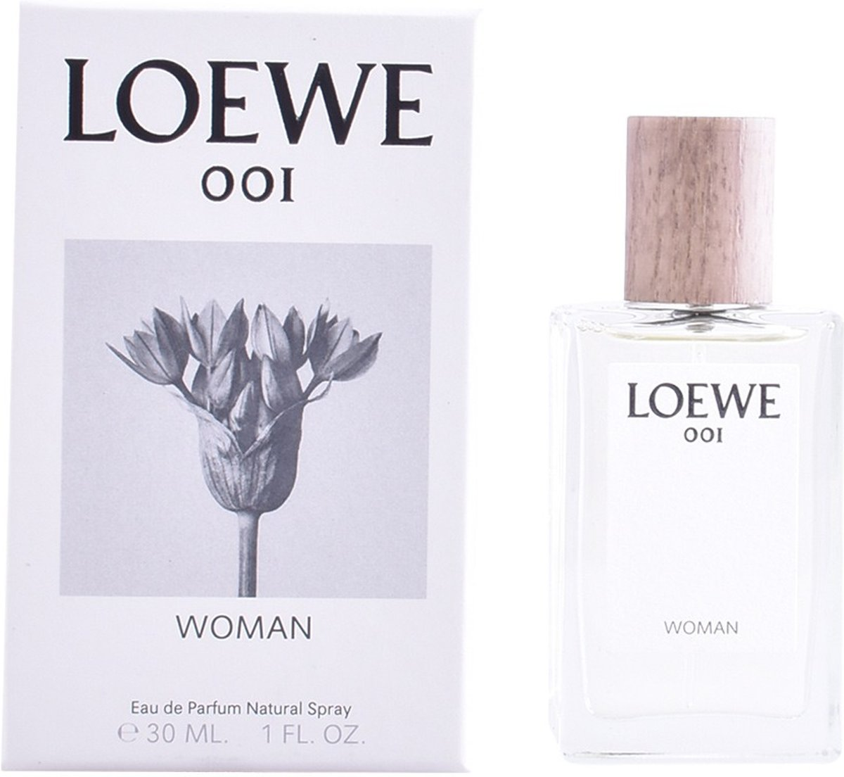 MULTI BUNDEL 2 stuks LOEWE 001 WOMAN Eau de Perfume Spray 30 ml