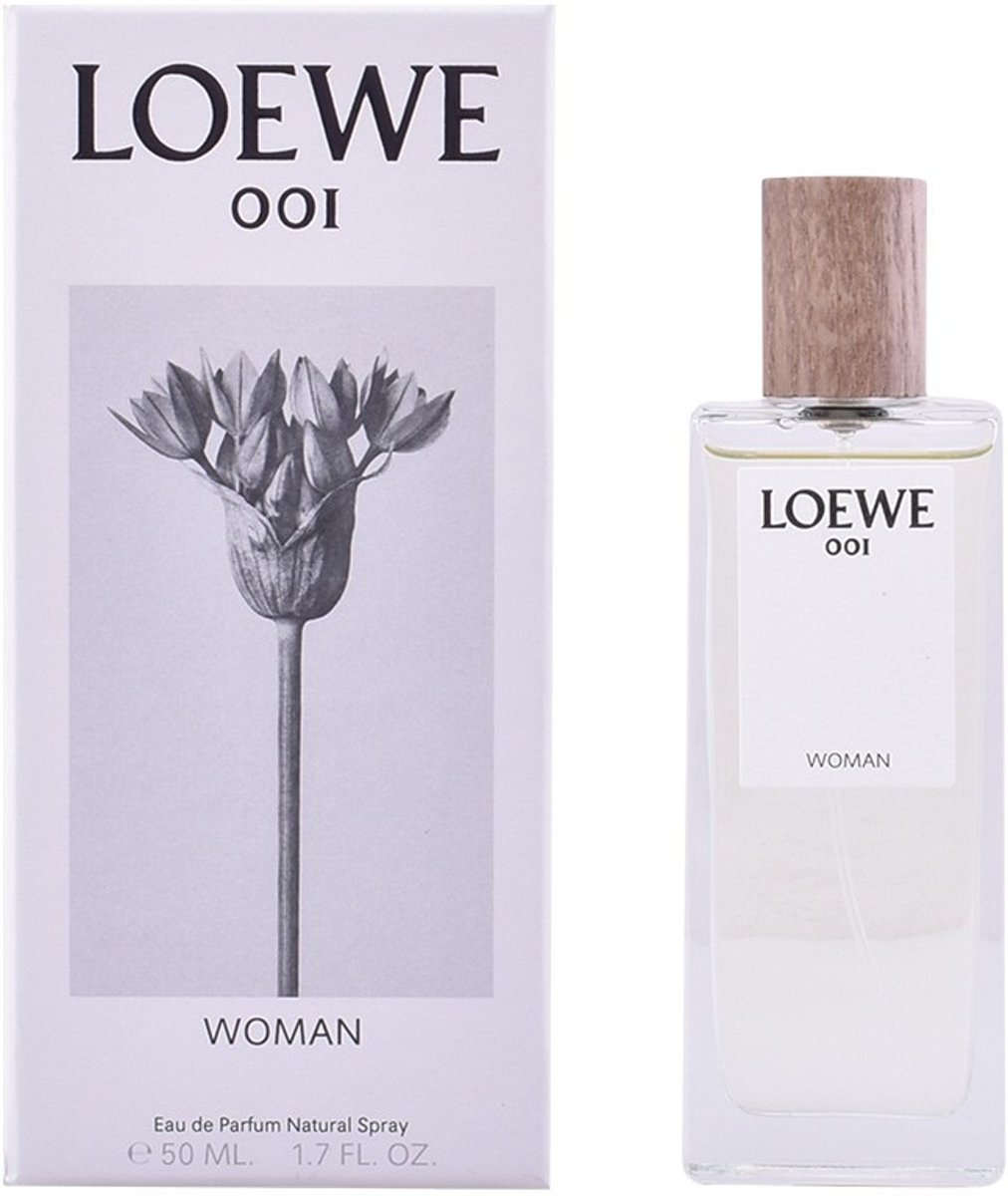 MULTI BUNDEL 2 stuks LOEWE 001 WOMAN Eau de Perfume Spray 50 ml
