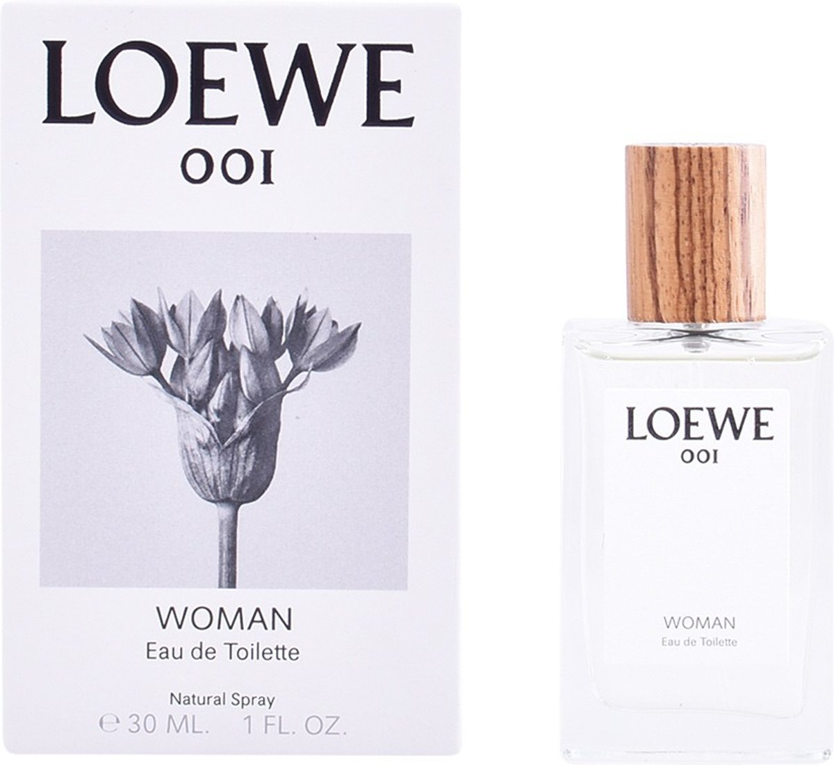 MULTI BUNDEL 2 stuks LOEWE 001 WOMAN Eau de Toilette Spray 30 ml