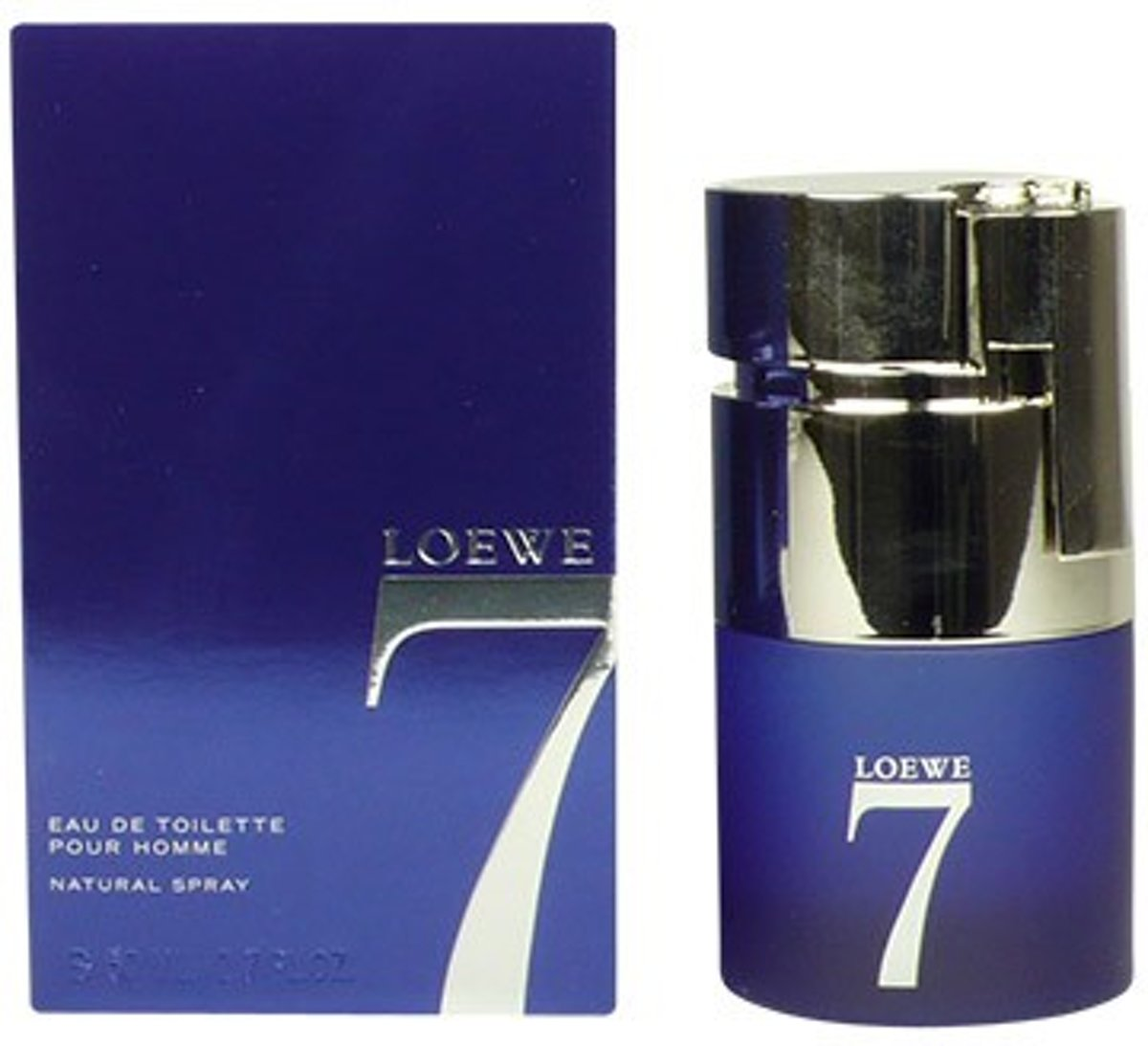 MULTI BUNDEL 2 stuks LOEWE 7 Eau de Toilette Spray 50 ml