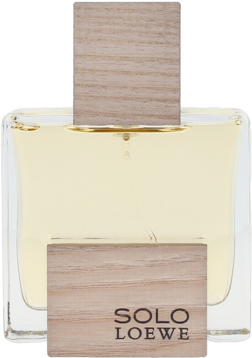 MULTI BUNDEL 2 stuks SOLO LOEWE CEDRO eau de toilette spray 50 ml