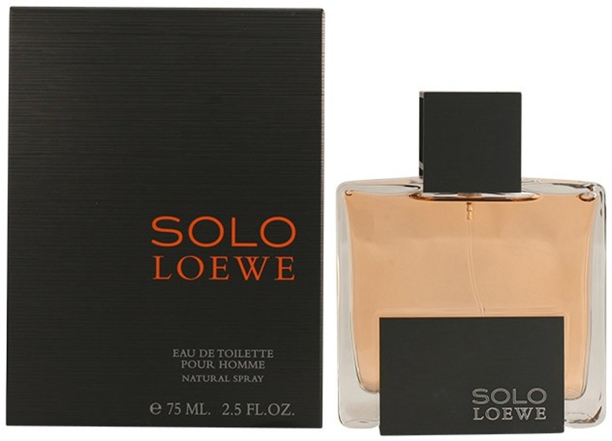 MULTI BUNDEL 2 stuks SOLO LOEWE Eau de Toilette Spray 75 ml