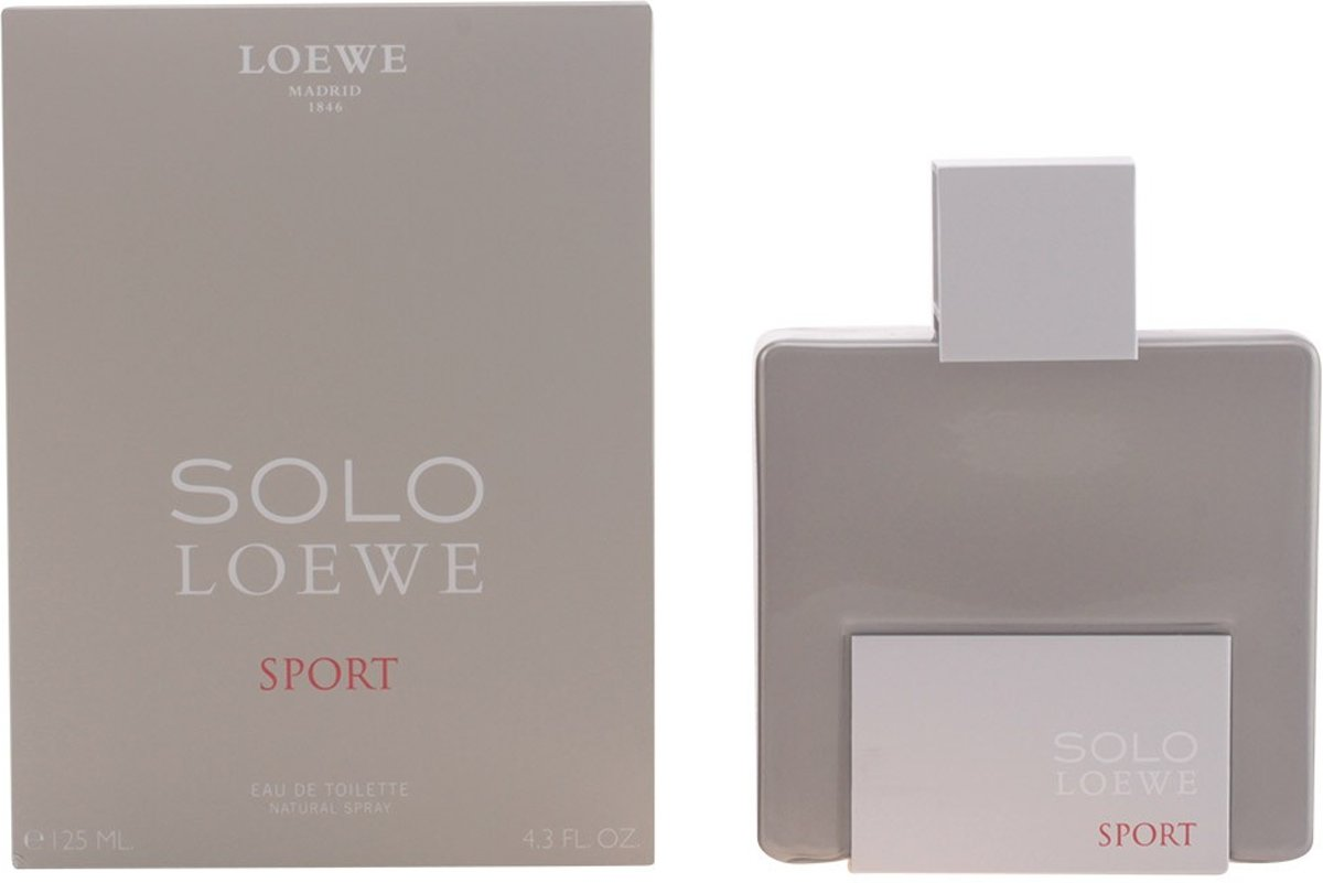 MULTI BUNDEL 2 stuks SOLO LOEWE SPORT Eau de Toilette Spray 125 ml