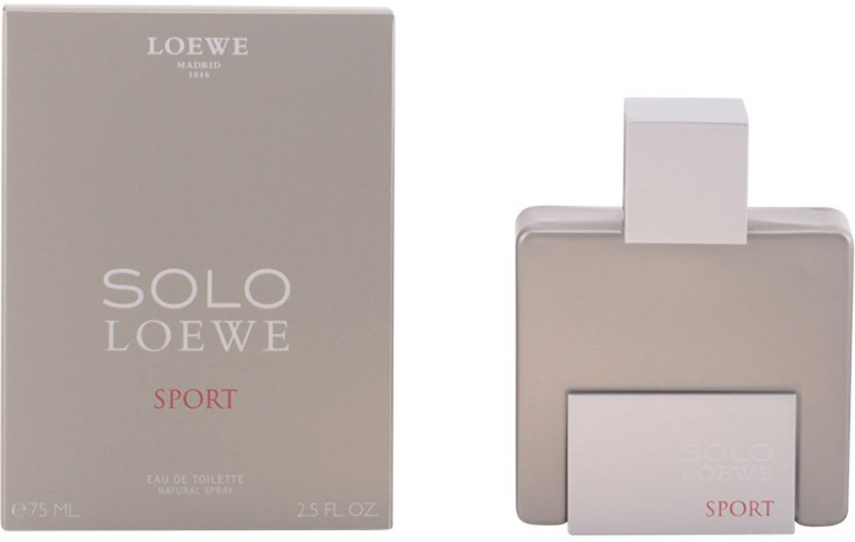 MULTI BUNDEL 2 stuks SOLO LOEWE SPORT Eau de Toilette Spray 75 ml