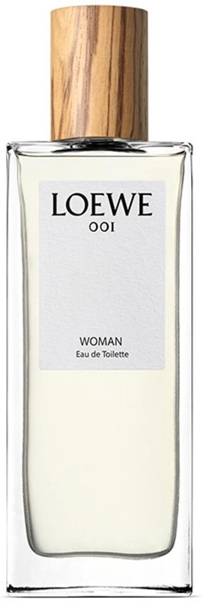 MULTI BUNDEL 3 stuks Loewe 001 Woman Eau De Toilette Spray 50ml