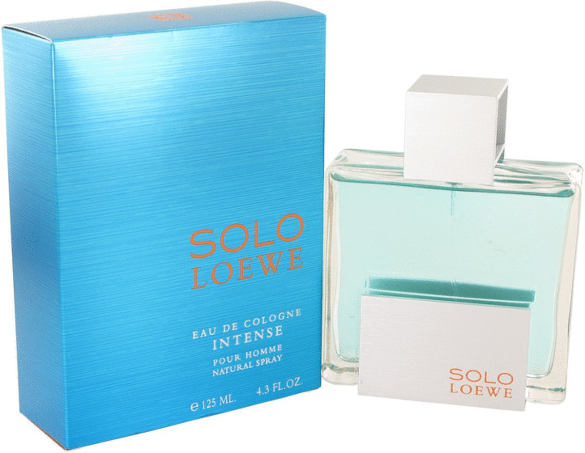 Solo Loewe Intense By Loewe Eau De Cologne Spray 130 ml - Fragrances For Men
