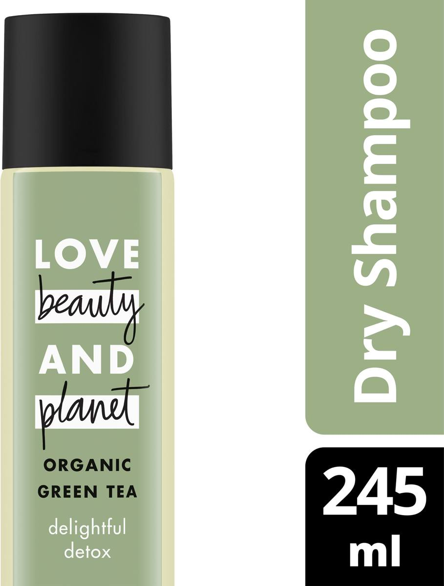 Love Beauty Planet Droogshampoo Daily Detox - 245 ml - Rosemary & Vetiver