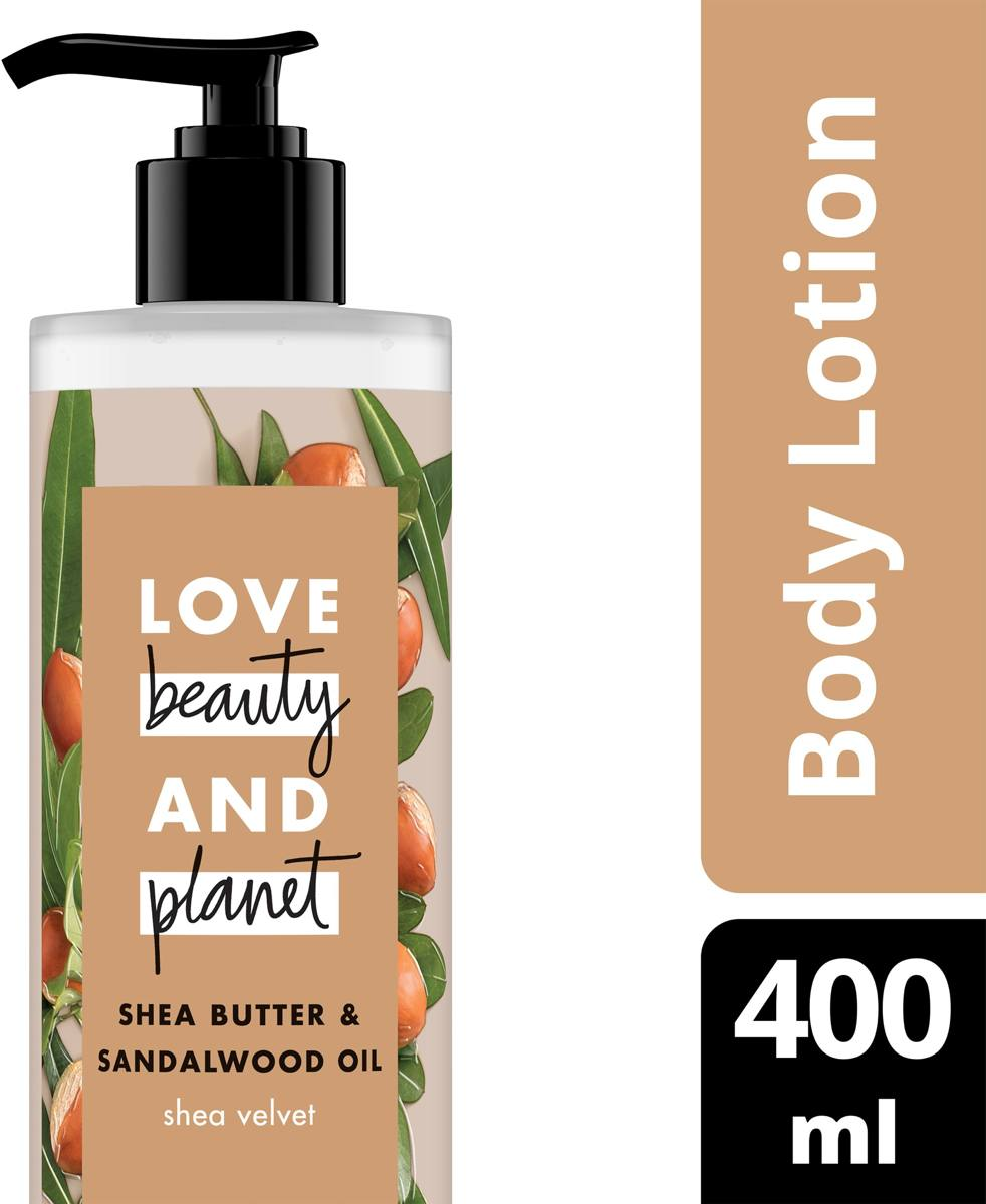 Love Beauty and Planet Body lotion - Shea Velvet - 400 ml