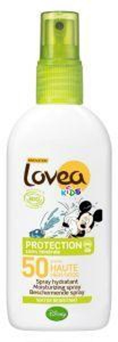 Lovea Bio Kids Zonnebrandspray - SPF 50 - 100 ml