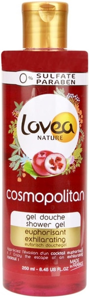 Lovea Nature Showergel - Cosmopolitan Ex­hi­la­ra­ting 250 ml