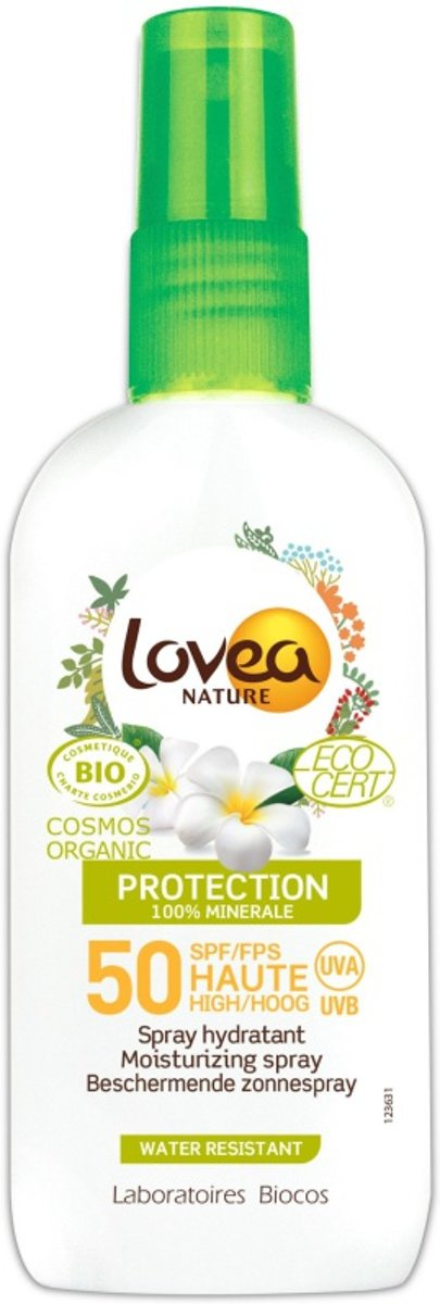 Lovea Sunspray factor 50 biologisch
