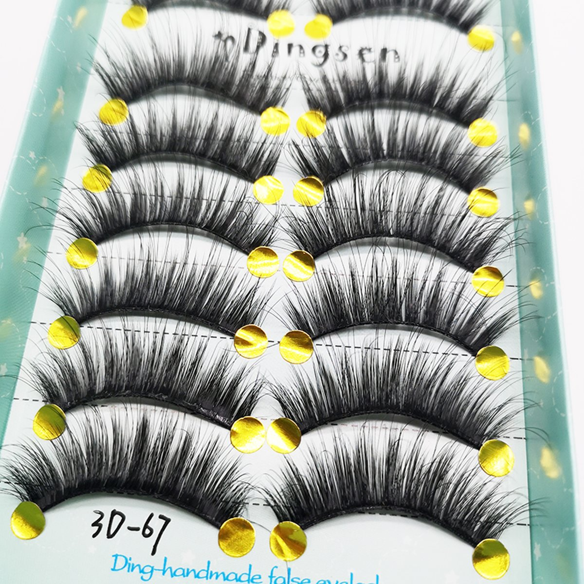 10 Paar Nepwimpers NO.1 Dik Straight | Wimpers | Cosmetica Accessoires