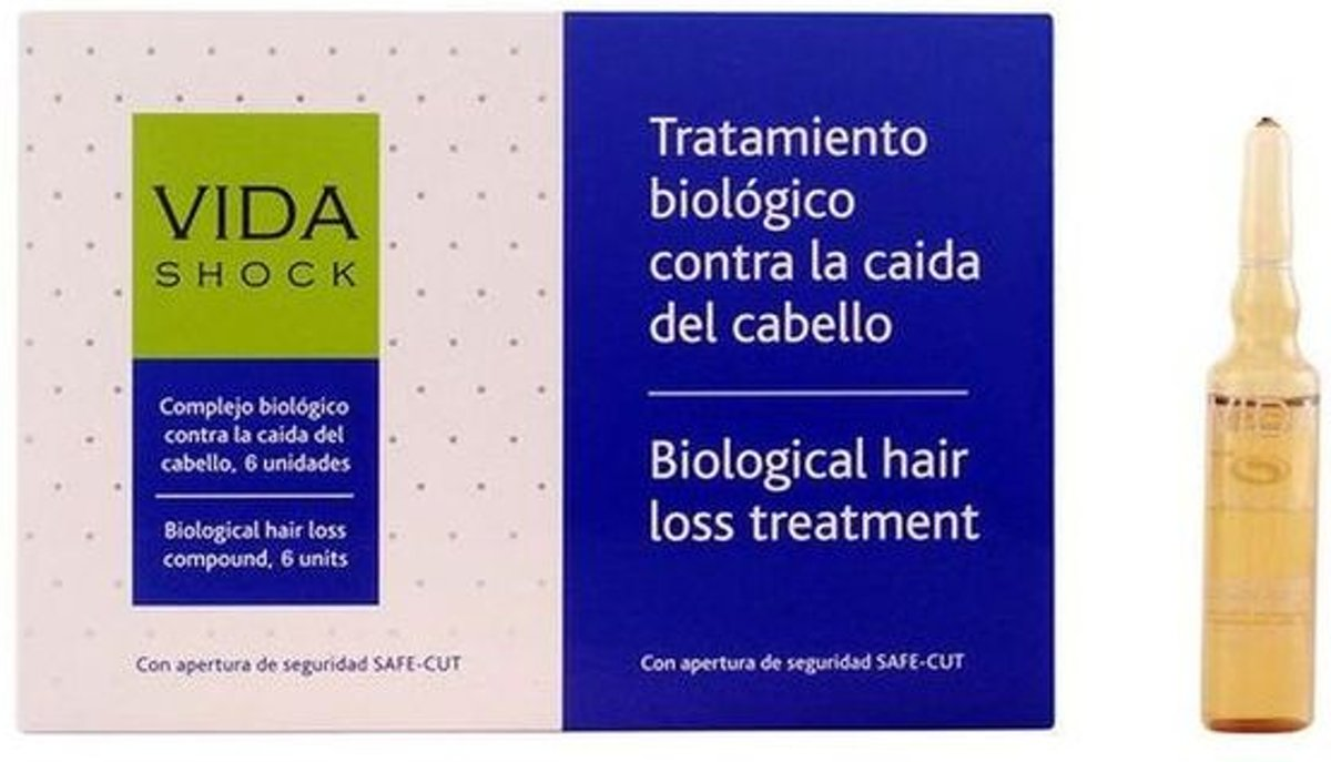 Anti-Haarverlies Ampullen Vida Shock Luxana (10 ml)