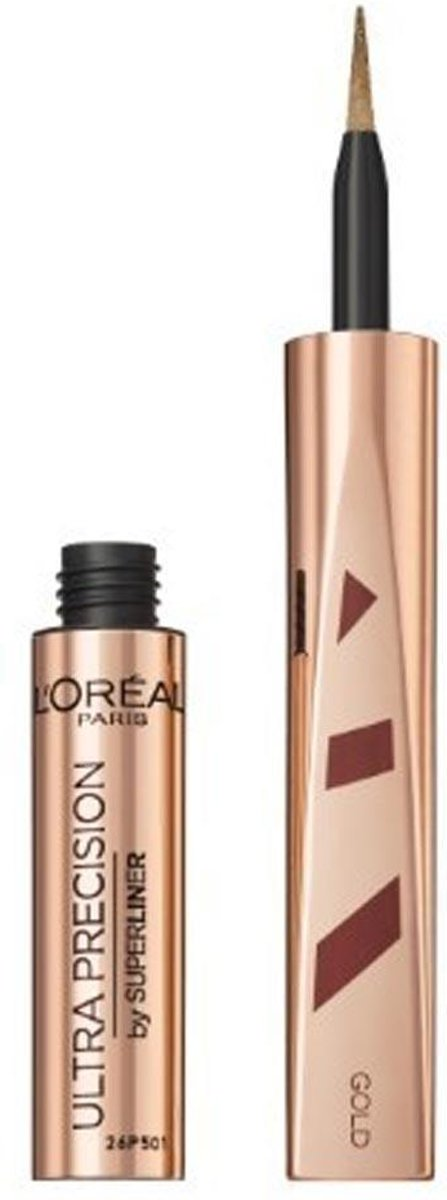 LOréal Ultra Precision Merry Metals Eyeliner Gold