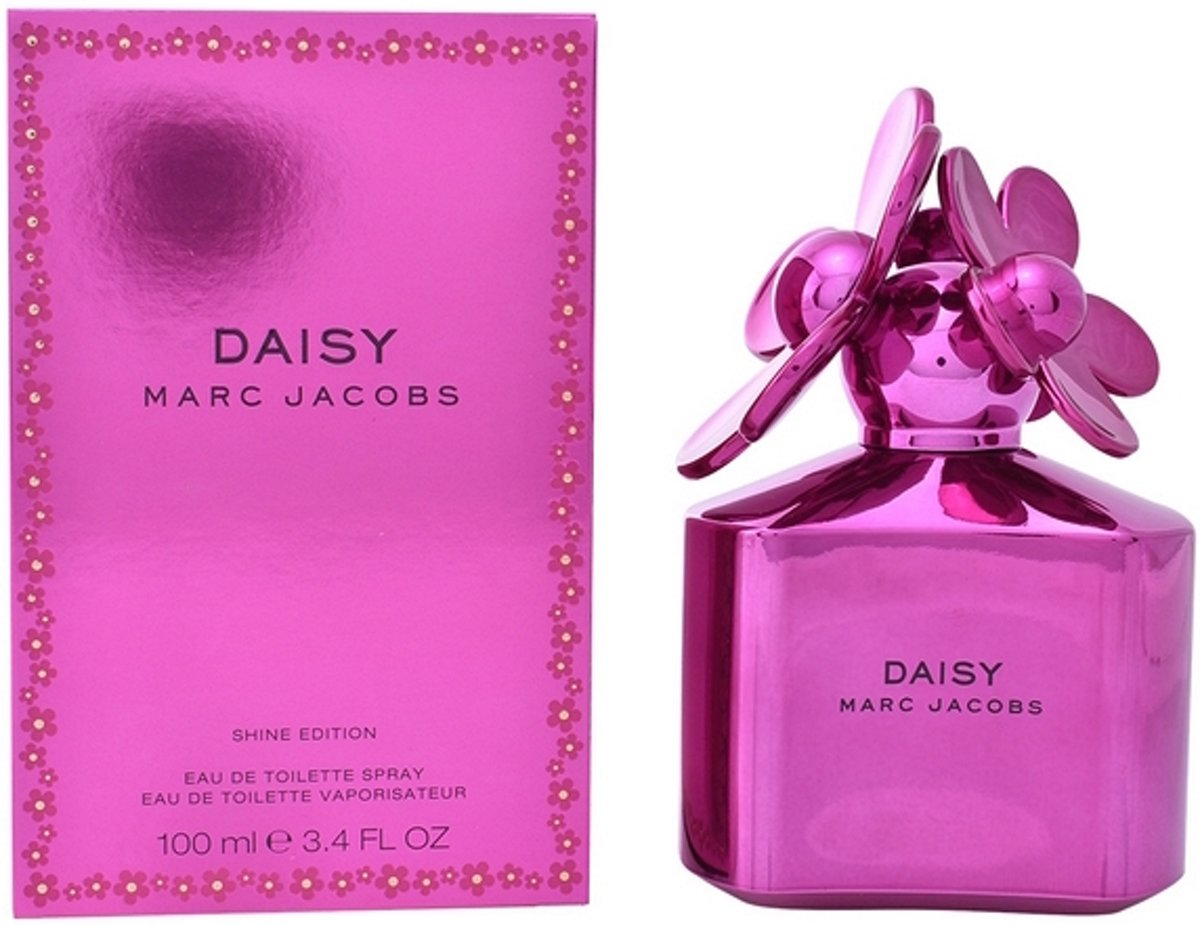 Marc Jacobs Daisy Shine Pink 100 ml - Eau De Toilette Spray Damesparfum