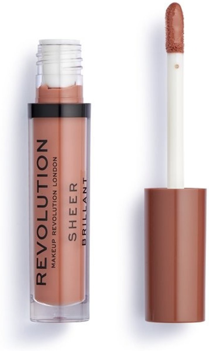 Makeup Revolution Sheer Lip Lipgloss - 120 Vow