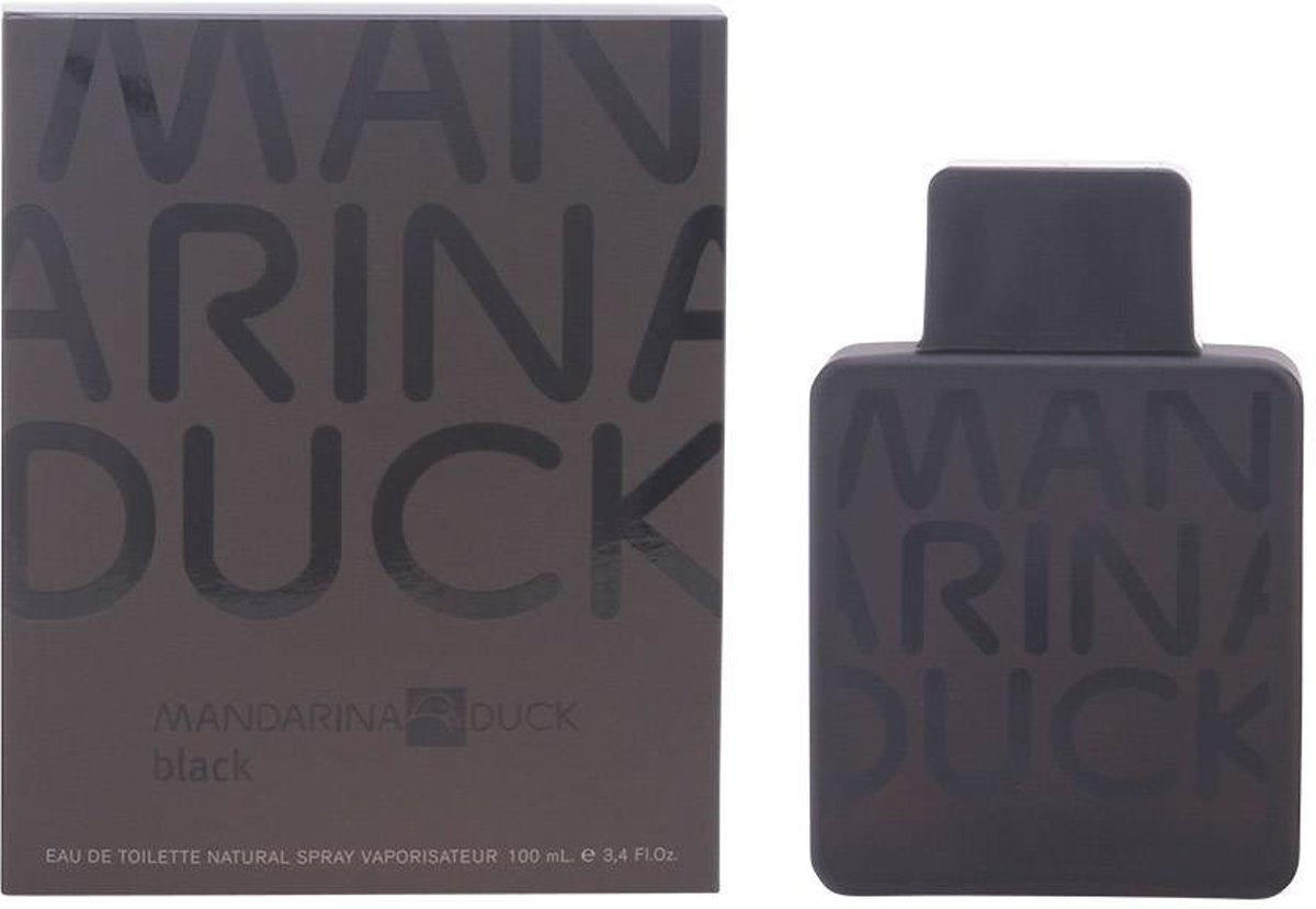 MANDARINA DUCK MAN BLACK eau de toilette spray 100 ml