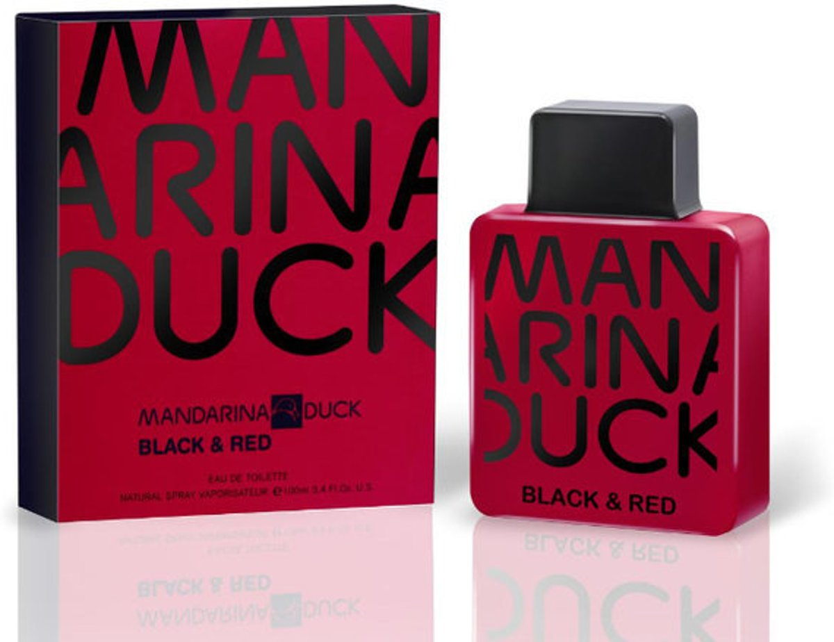 Mandarina Duck Black & Red 100 ml - Eau De Toilette Spray Herenparfum