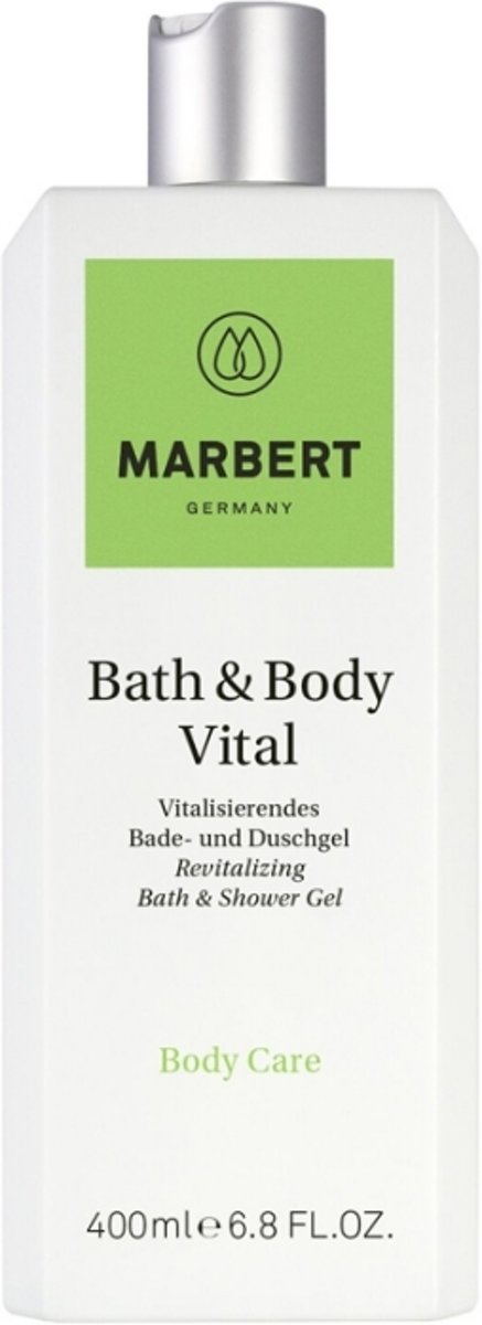 Marbert Bath & Body Vital Revitalizing Shower Gel Douchegel 400 ml