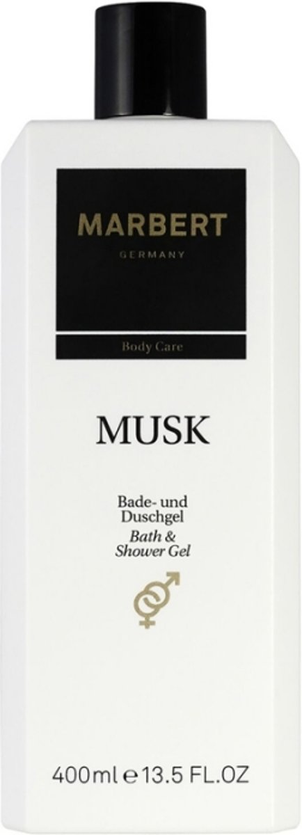 Marbert Body Care Musk Bath & Shower Gel Douchegel 400 ml