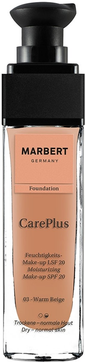 Marbert Careplus Foundation 03 Warm Beige