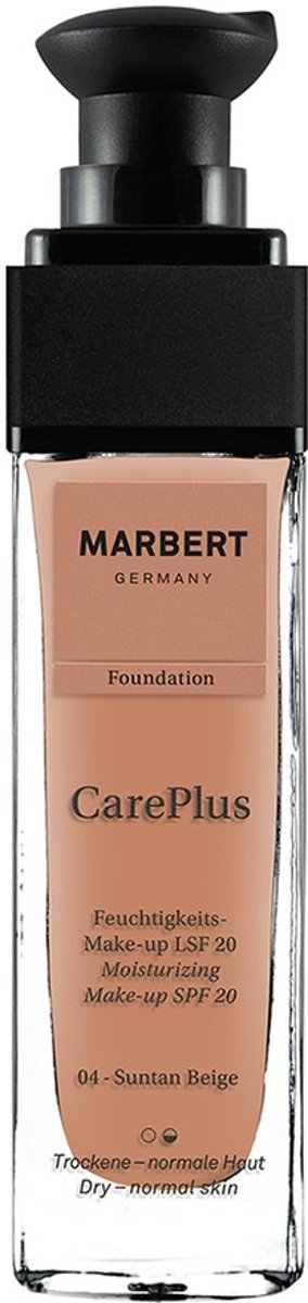 Marbert Careplus Foundation 04 Suntan Beige
