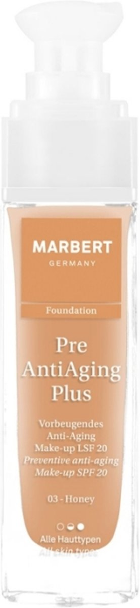 Marbert Pre Anti-Aging Plus Foundation 30 ml - 03 - Honey