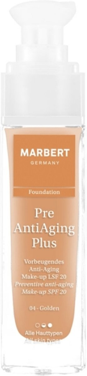 Marbert Pre Anti-Aging Plus Foundation 30 ml - 04 - Golden