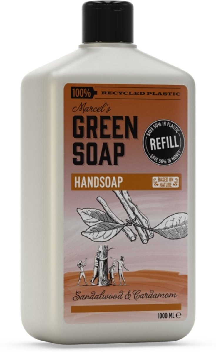 Marcels green soap nav.san&ka 1000ml