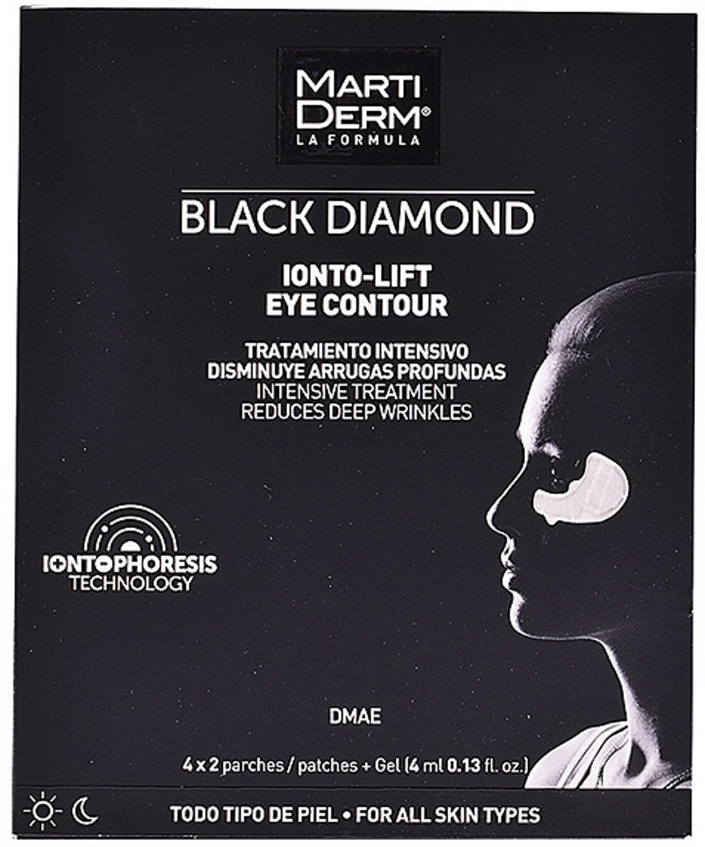 Anti-Rimpel Pleisters voor Ooggebied Black Diamond Martiderm (4 pcs)