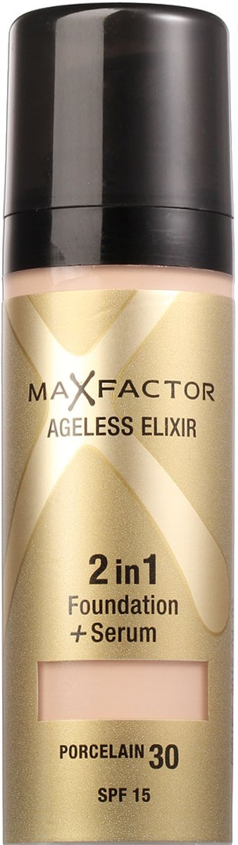 Max Factor 2in1 Foundation - Ageless Elixir Porcelain 30