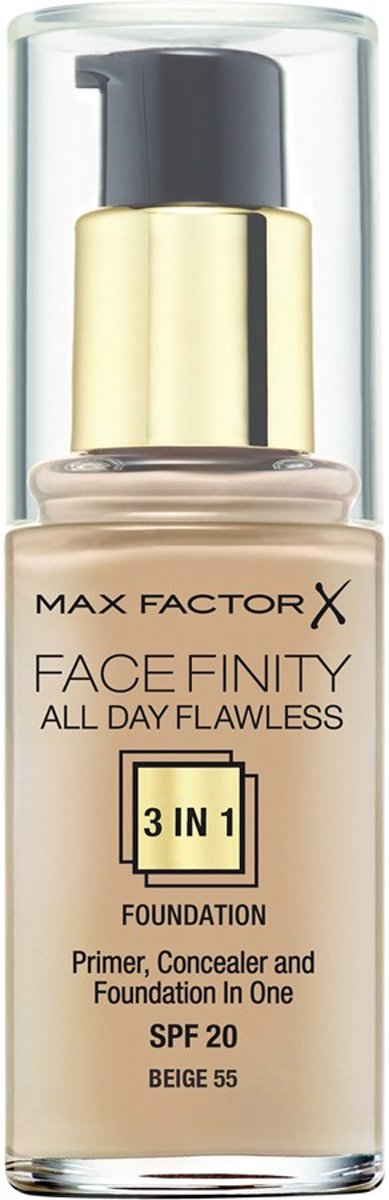 Max Factor Face Finity 3 in 1 Foundation- primer, Concealer and Foundation - Porcelain 30
