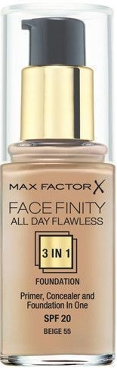 Max Factor Foundation Facefinity 3in1 - Beige 55