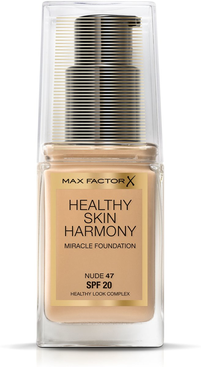 Max Factor Healthy Skin Harmony Foundation - 47 Nude