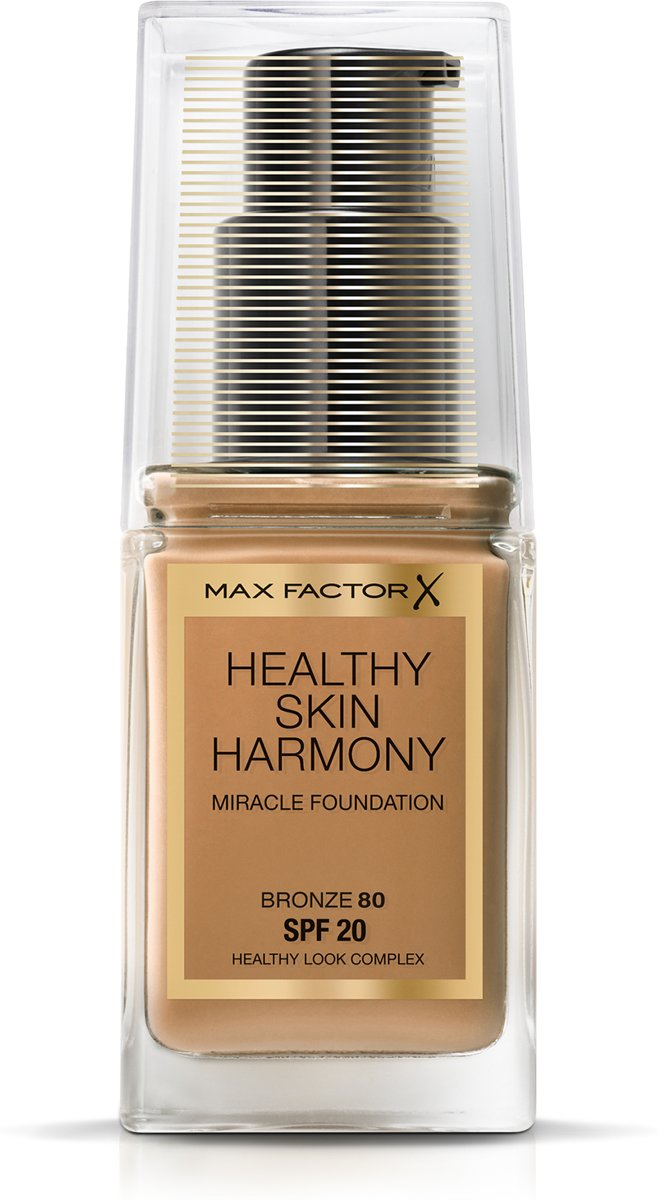 Max Factor Healthy Skin Harmony Foundation - 80 Bronze