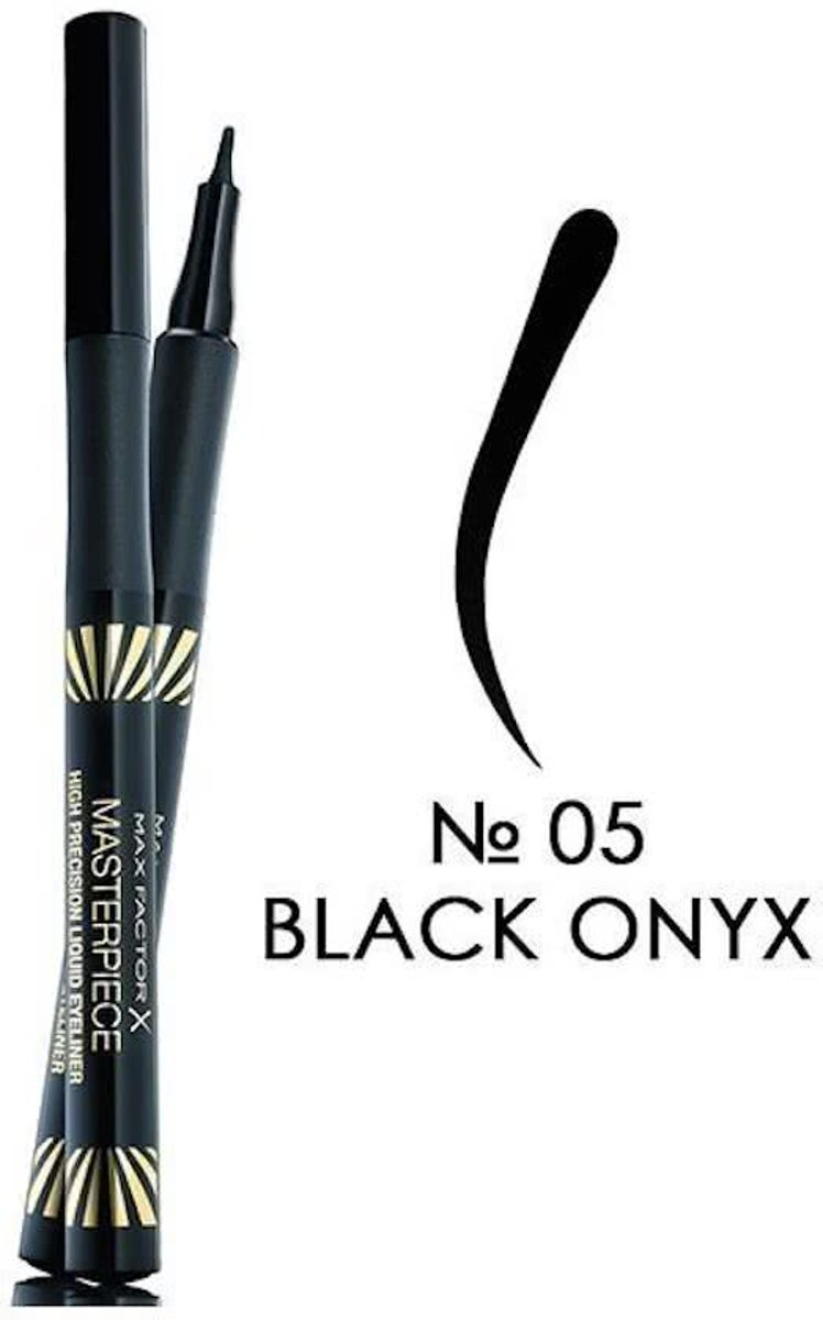 Max Factor Masterpiece High Precision Liquid Eyeliner - 05 Black Onyx