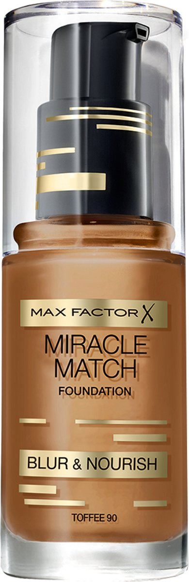 Max Factor Miracle Match Blur & Nour - 90 Toffee - Foundation
