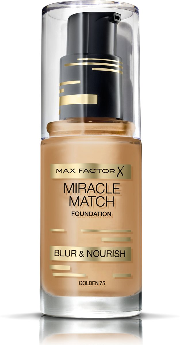 Max Factor Miracle Match Blur & Nour Foundation - 75 Golden