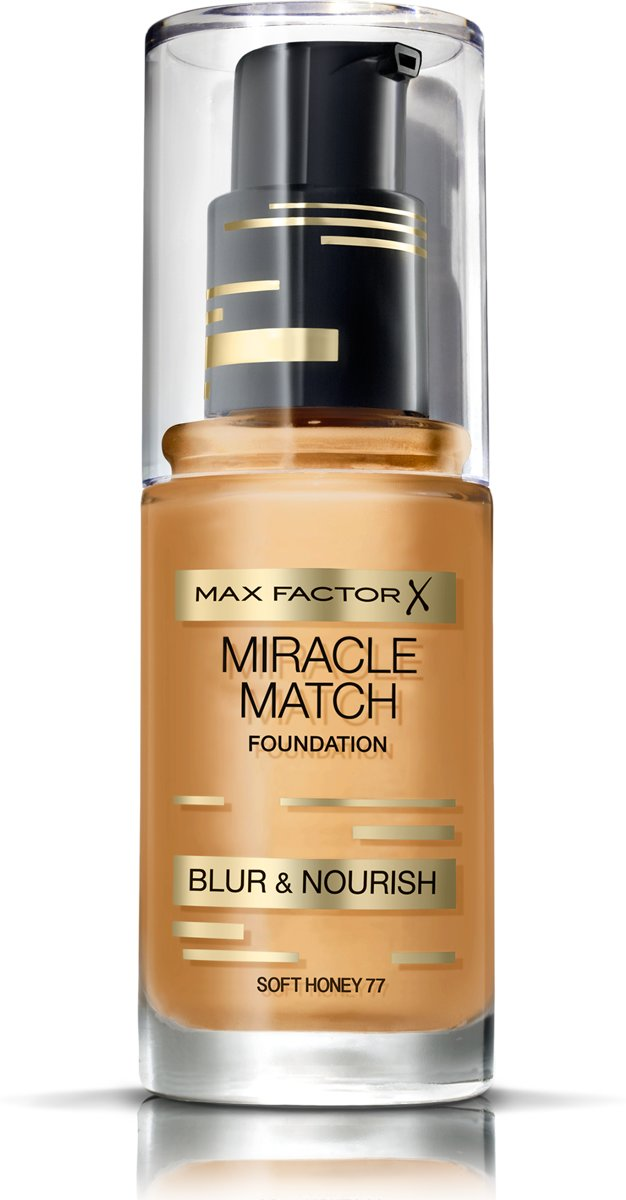Max Factor Miracle Match Blur & Nour Foundation - 77 Soft Honey