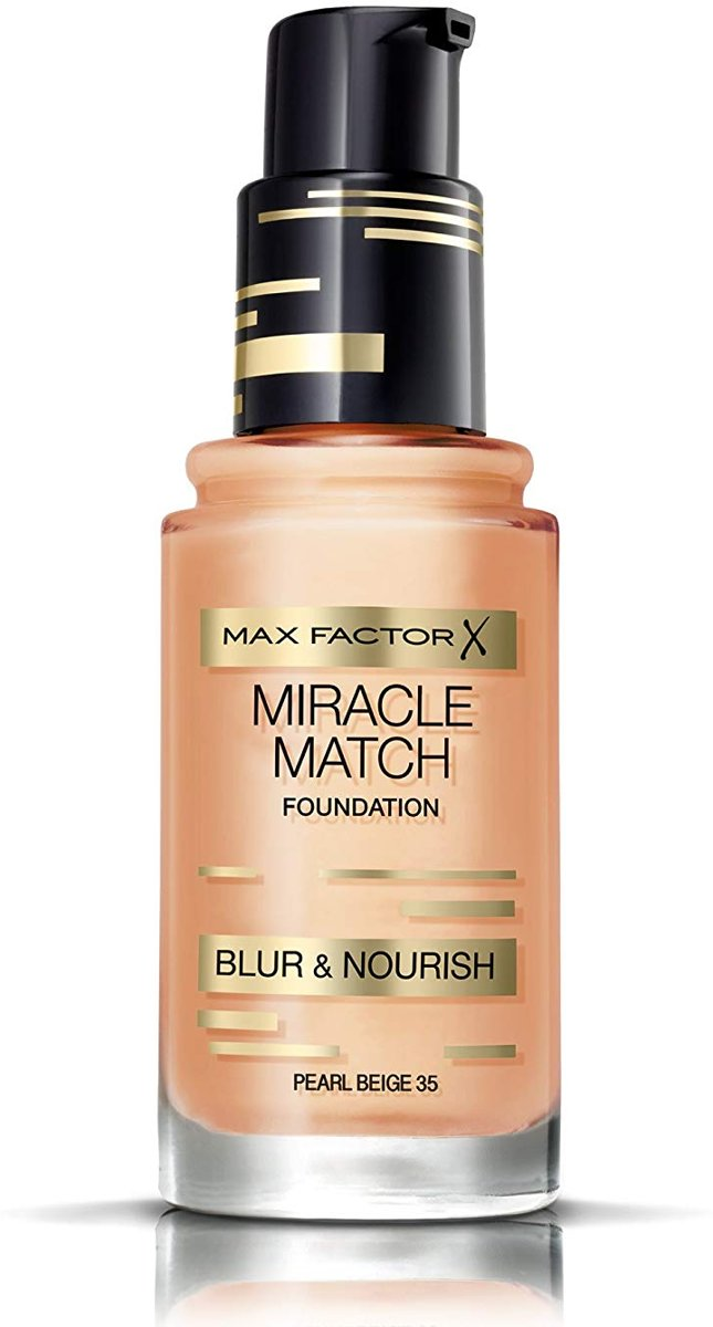Max Factor Miracle Match Foundation 35 Pearl Beige