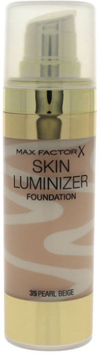 Max Factor Thunder & Light Skin Luminizer Porcelain Foundation 30ml - 35 Pearl Beige