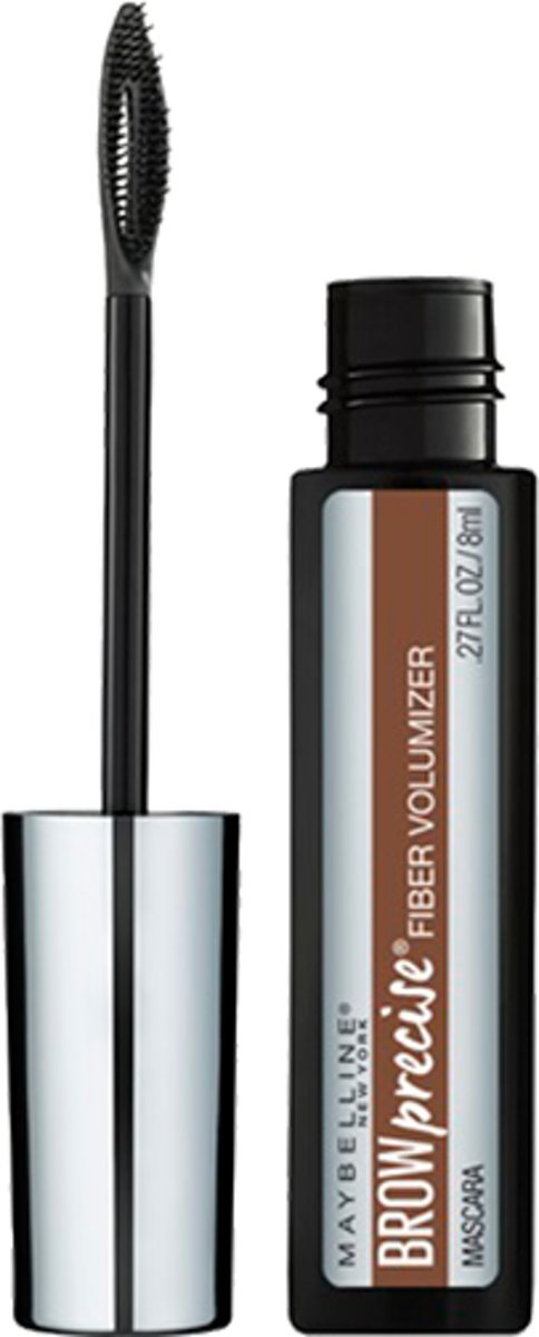 Maybelline - Brow Precise Fiber Filler- 04 Soft Brown - Wenkbrauwmascara