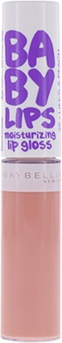 Maybelline Babylips - 25 Lifes a Peach - Nude Roze - Lipgloss