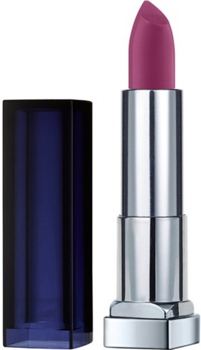 Maybelline Color Sensational Loaded Bolds - 886 Berry Bossy - Lipstick Violet Mat lippenstift